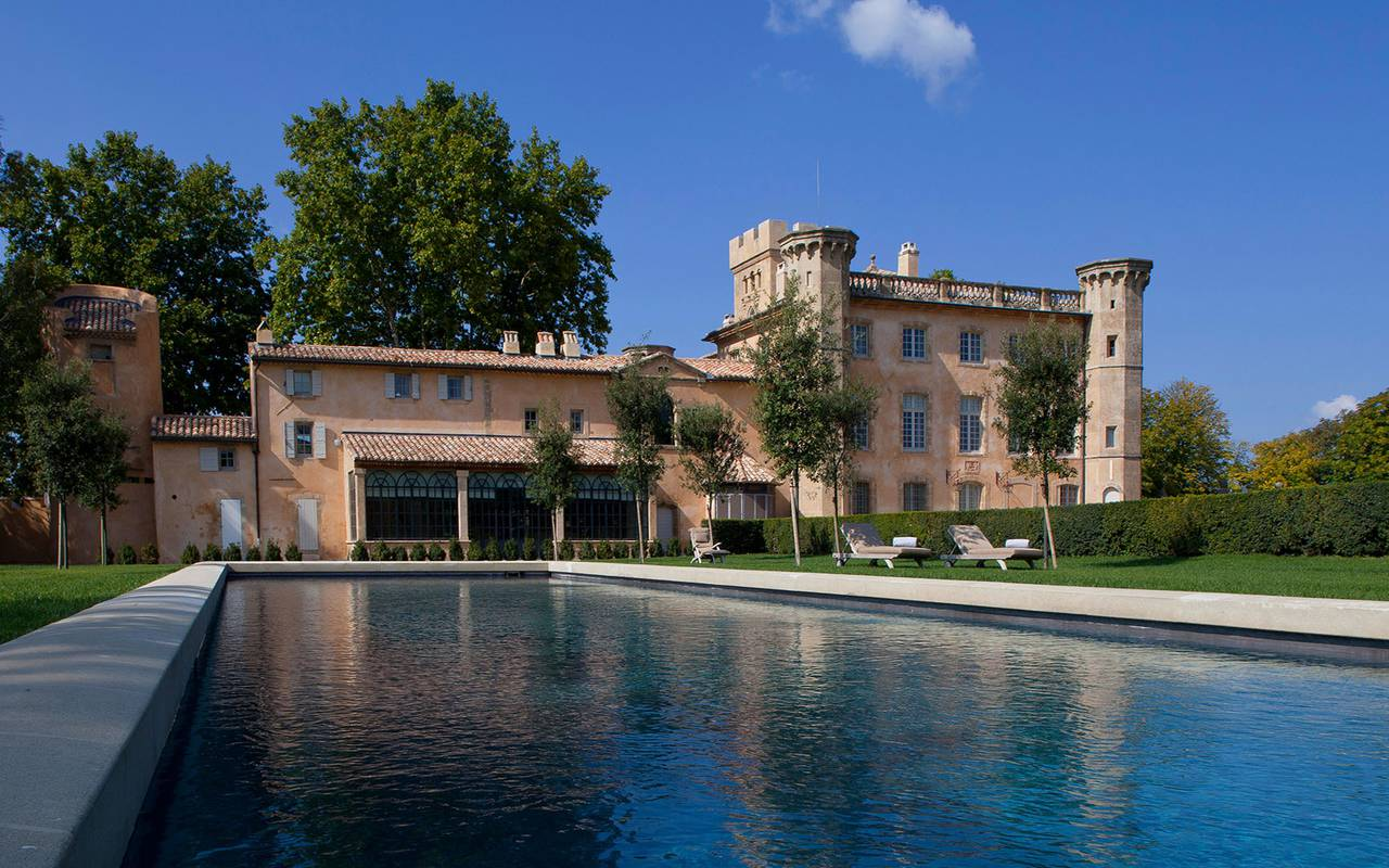 villa and swimming pool - guest house in provence