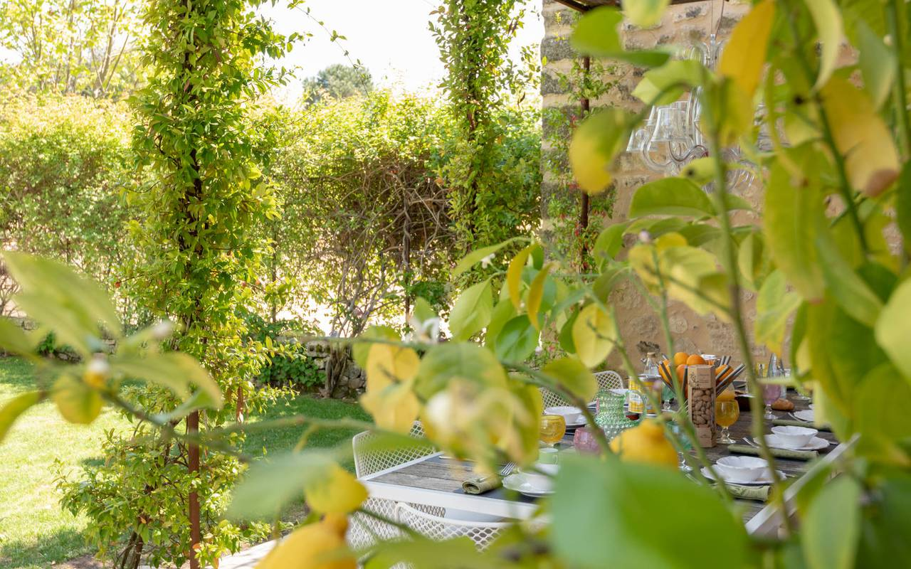 Exterior villa les granges - luxury accommodation provence