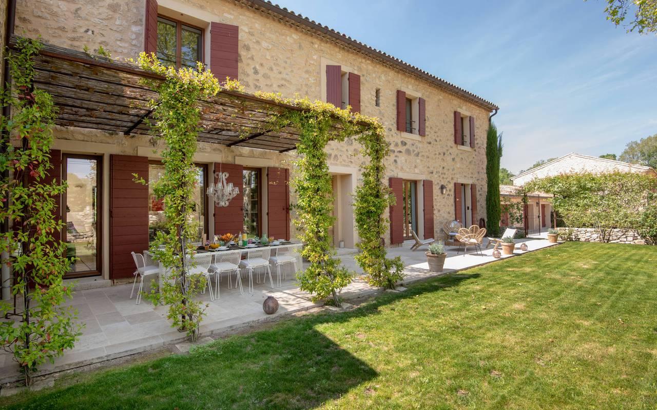 exterior villa les granges - guest house in provence