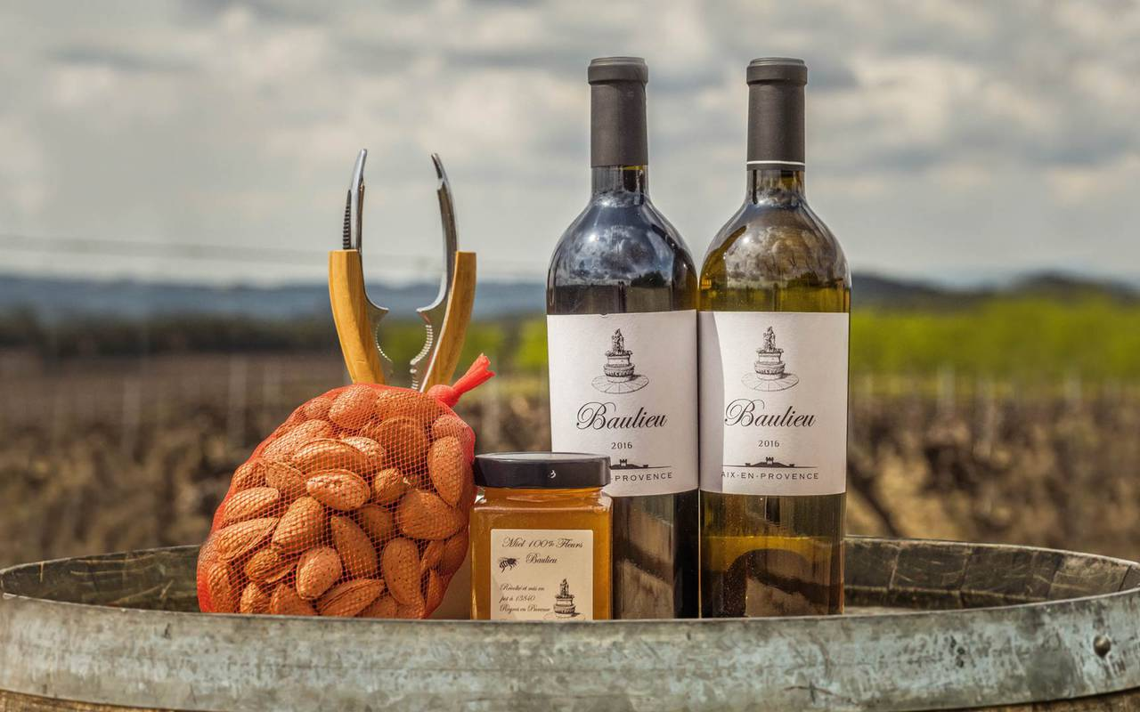 Local products - Provence vineyards