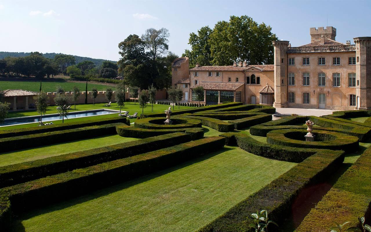 Extérieur et jardin villa baulieu - maison d hote de charme luberon
