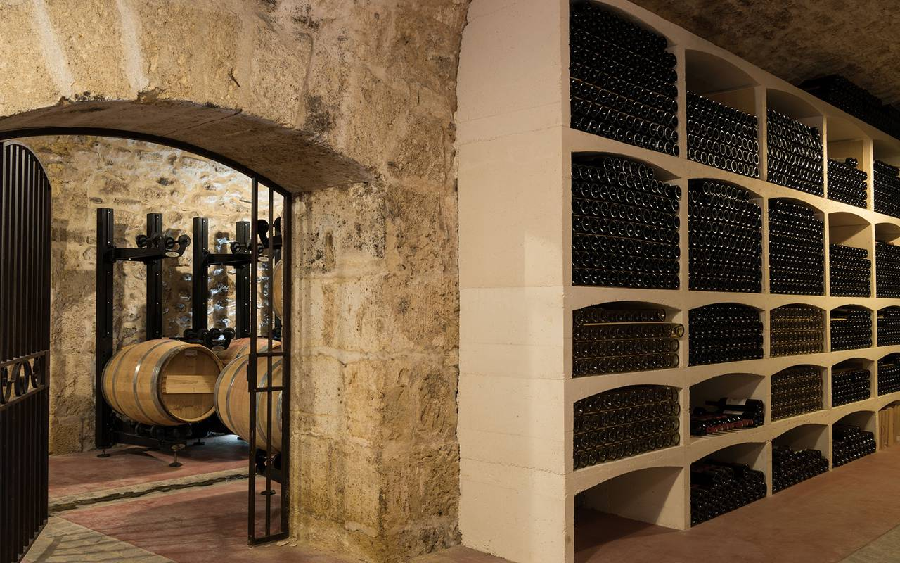 Cave à vins - Maison d'hôte de charme lubéton