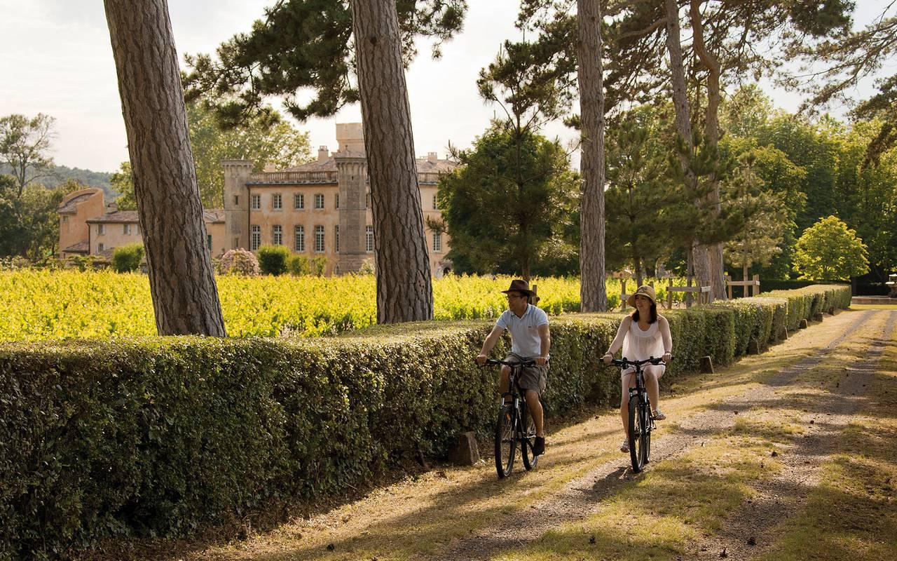 Balade à vélo - maison d'hote de charme provence