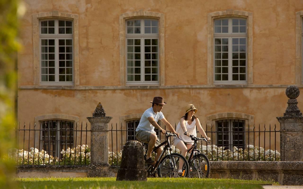 Ballade à vélo - maison d hote aix en provence