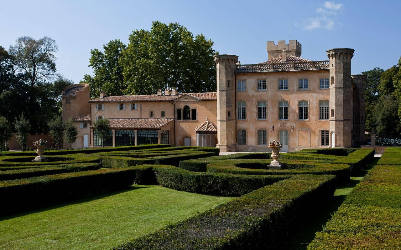 Extérieur Villa - Séminaire aix en provence
