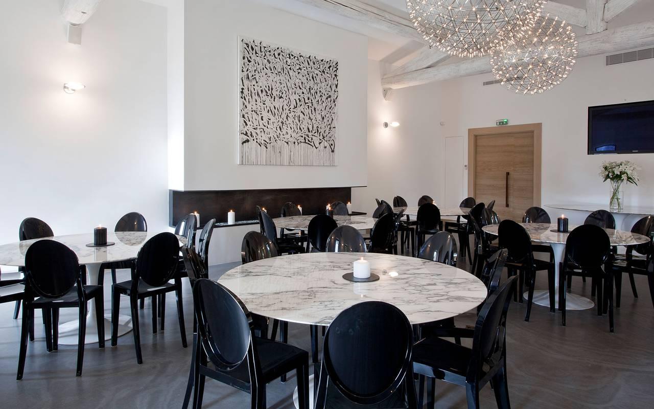 Salle de réception - Séminaire aix en provence