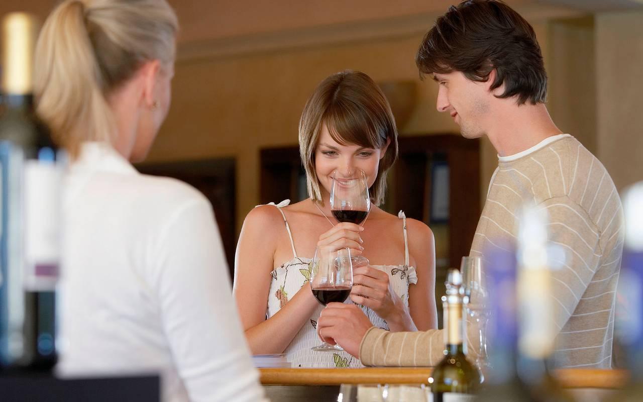 Dégustation de vin - vignoble provence