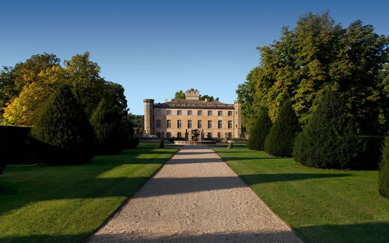Villa Baulieu extérieur - maison d'hôte de charme luberon