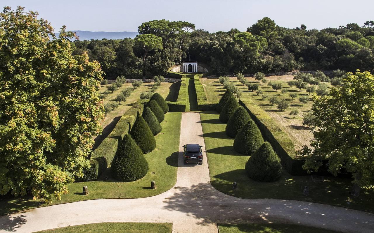 Jardin de la Villa Baulieu - Maison d'hôte aix en provence