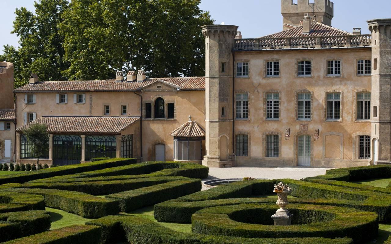 Jardin et extérieur villa - maison d'hôte de charme luberon