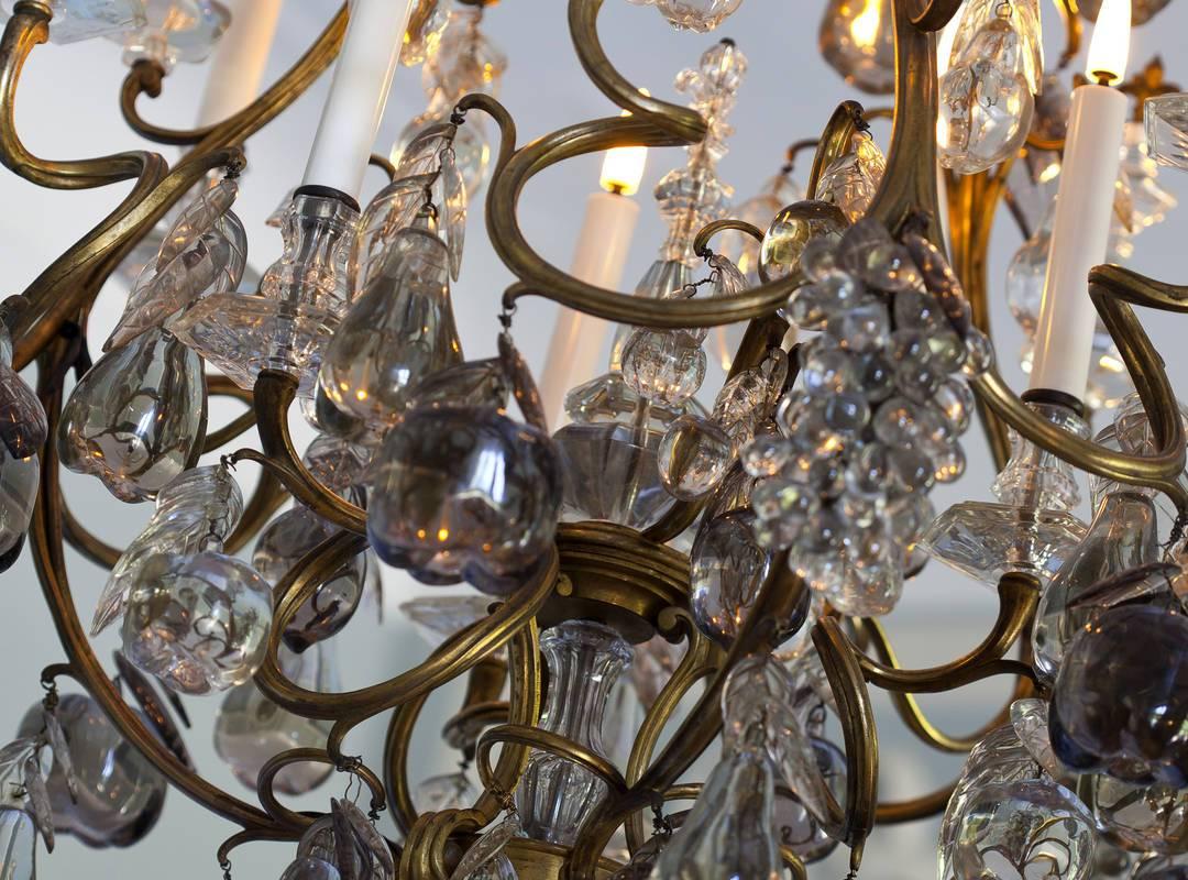 Lustre chambre augustin - maison d'hote de charme aix en provence