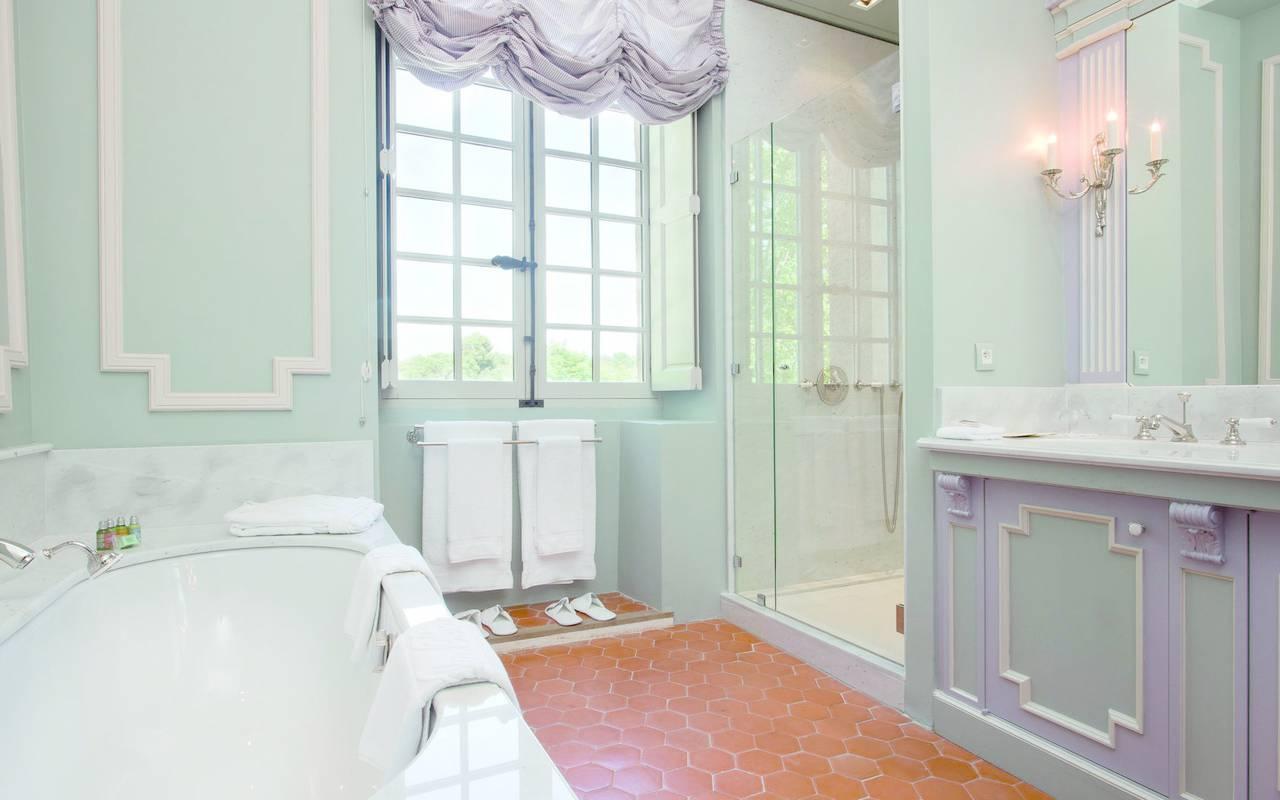 salle de bain chambre augustin - maison d hote en provence