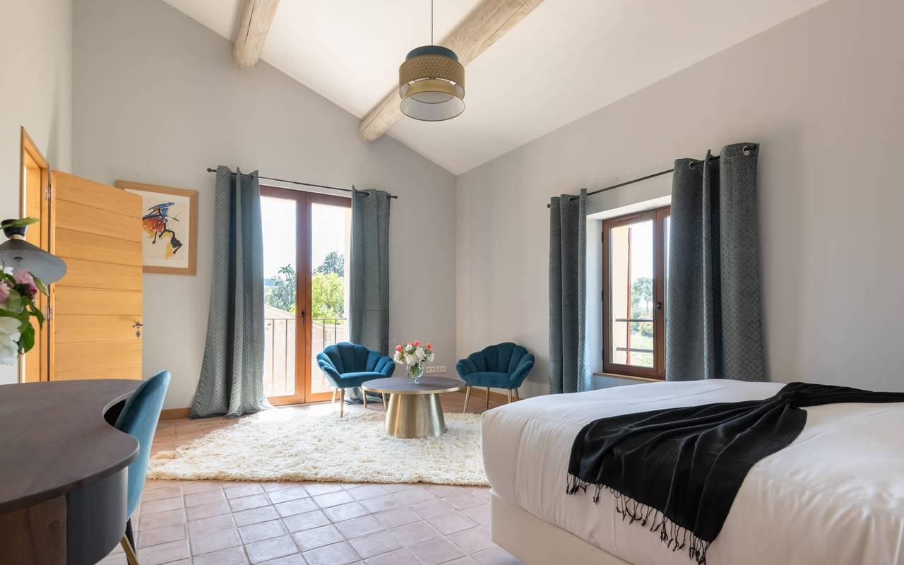 Chambre villa les granges - maison d hote de charme provence