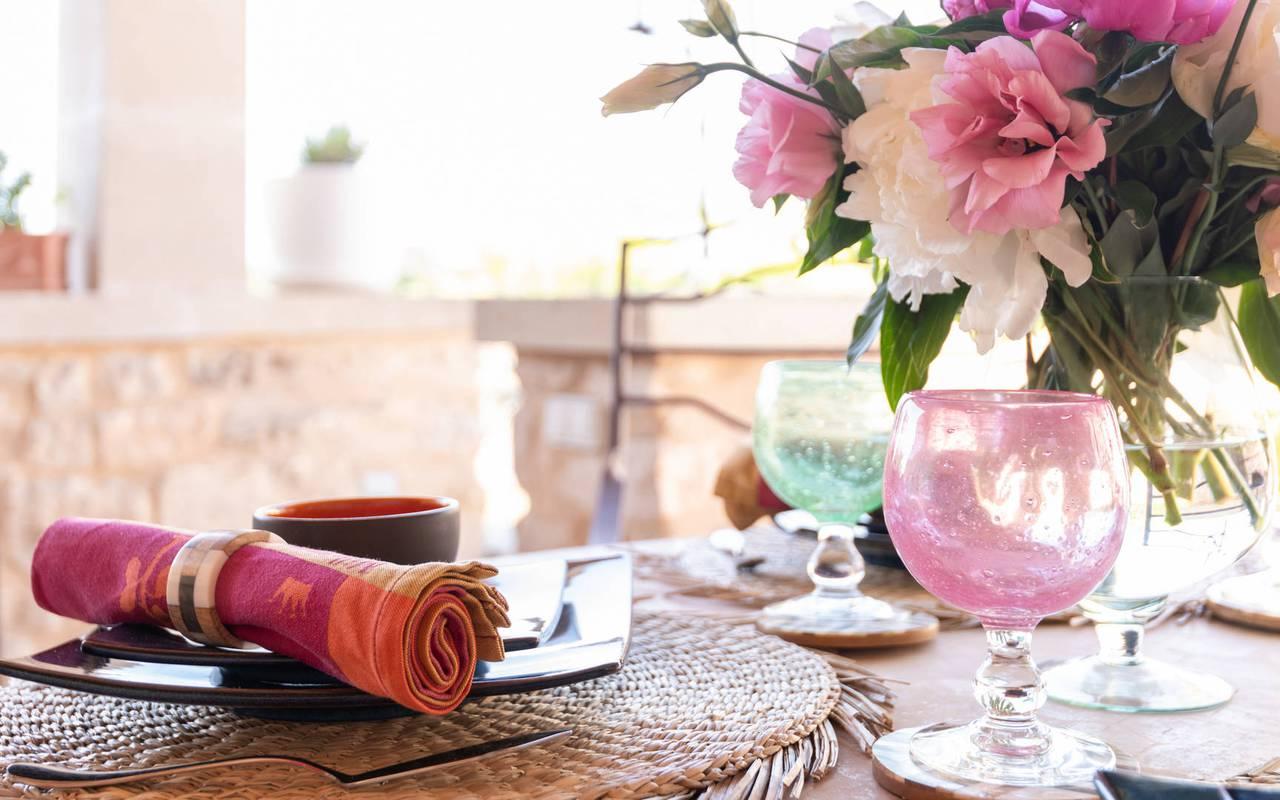table villa les granges - maison d hotes de charme provence