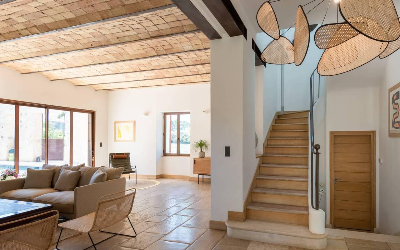salon villa les granges - maison d hote de charme aix en provence