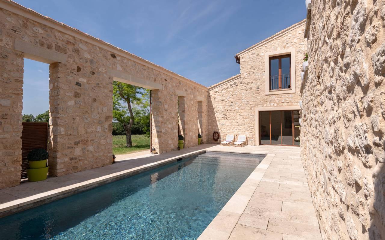 Piscine villa les granges - vignoble provence