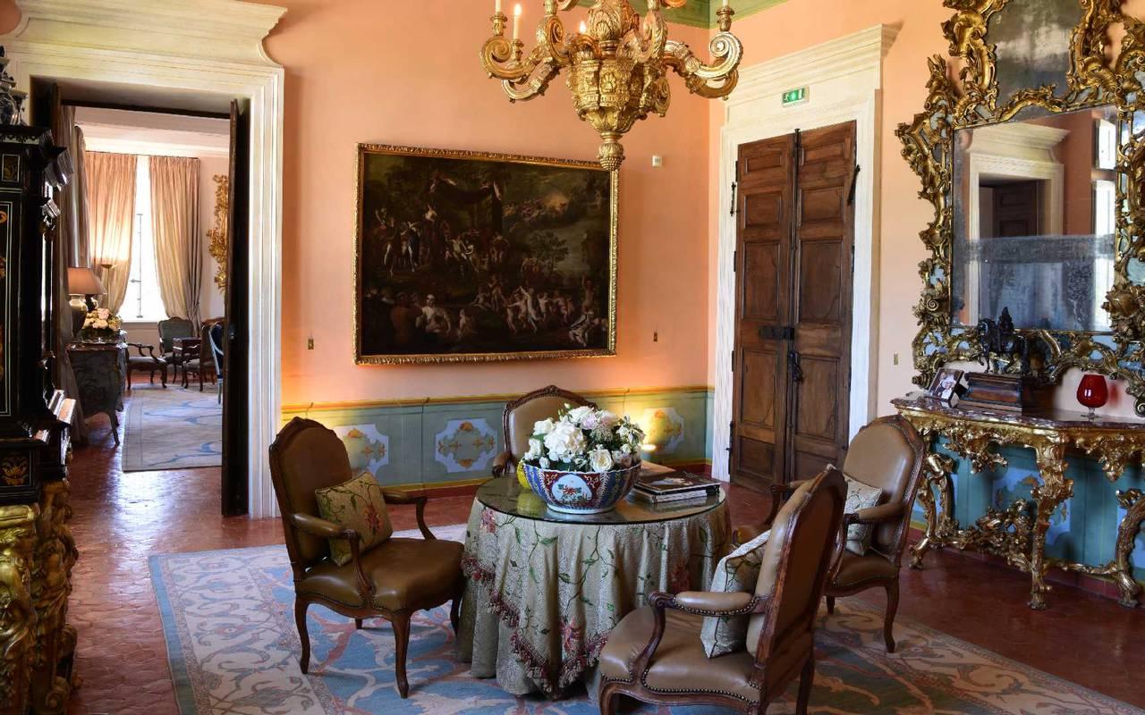 Intérieur villa - maison d hote de charme luberon