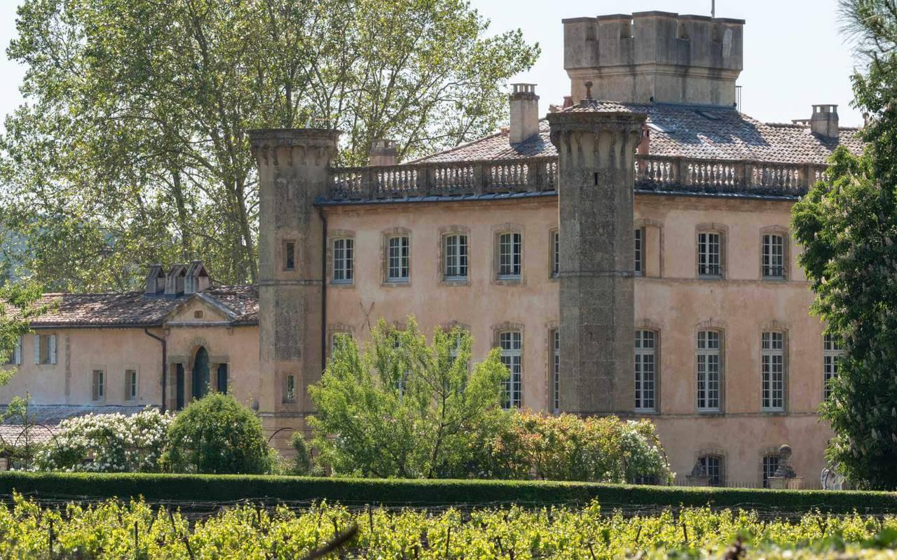 Extérieur villa - Vignoble aix en provence