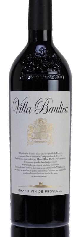 Bouteille de vin - Domaine viticole aix en provence