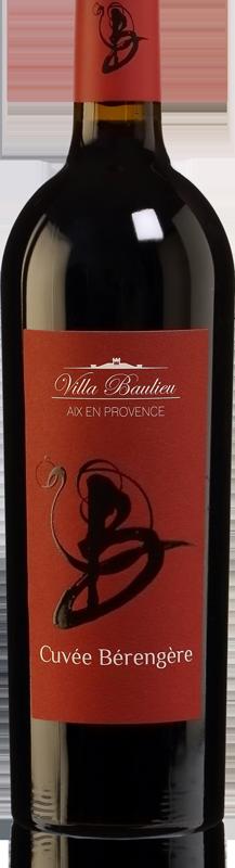 Bouteille de vin - Vignoble aix en provence