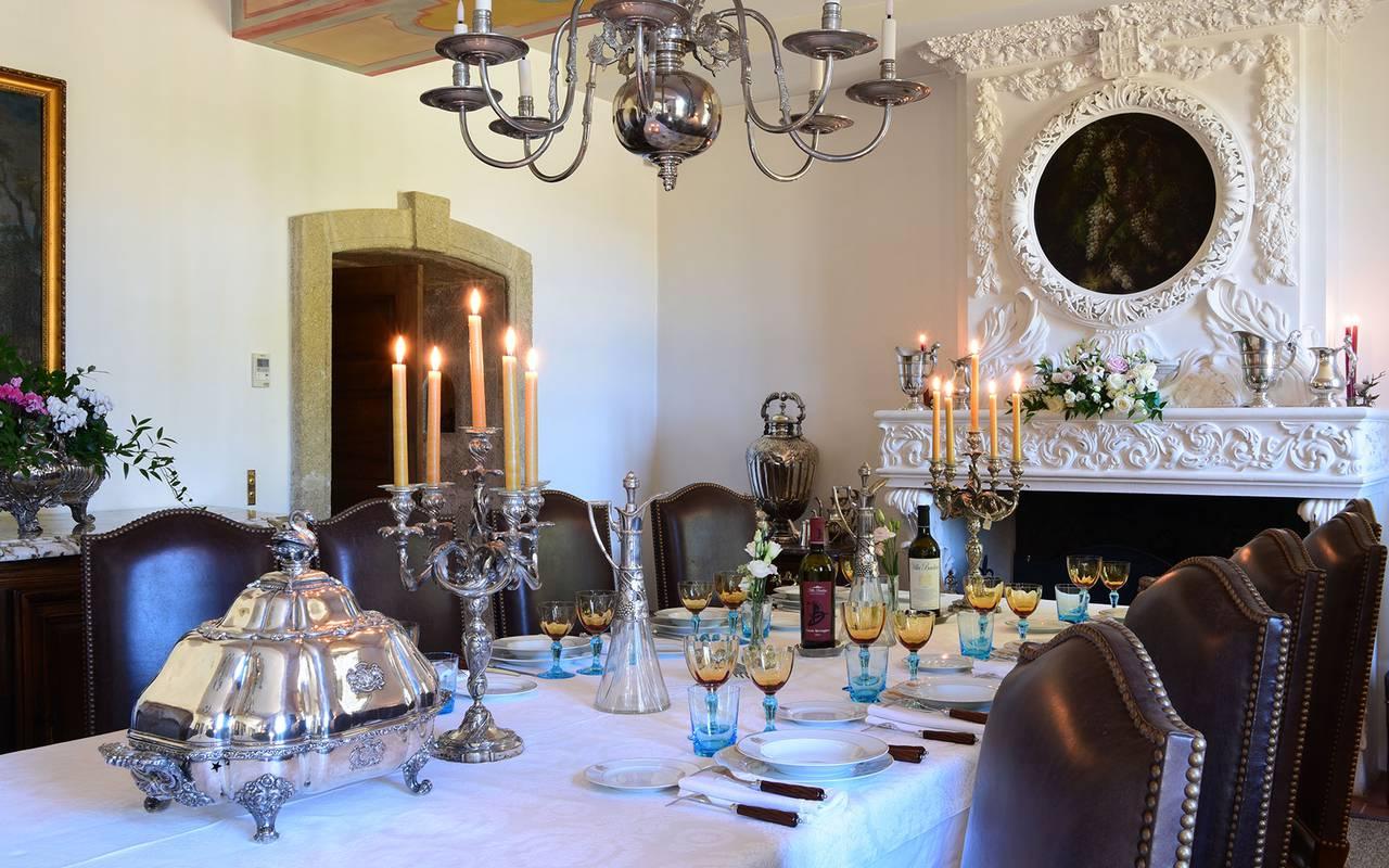 Table restaurant - maison d hote de charme provence