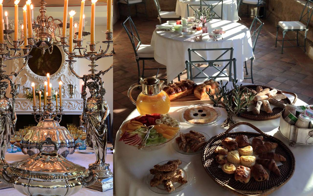 Petit-déjeuner villa - maison d hote de charme aix en provence