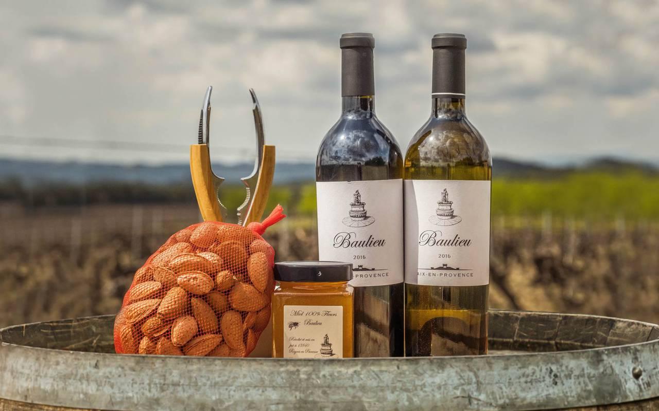 Produits locaux - vignoble provence