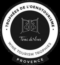 Trophées œnotourisme logo - Vignoble provence