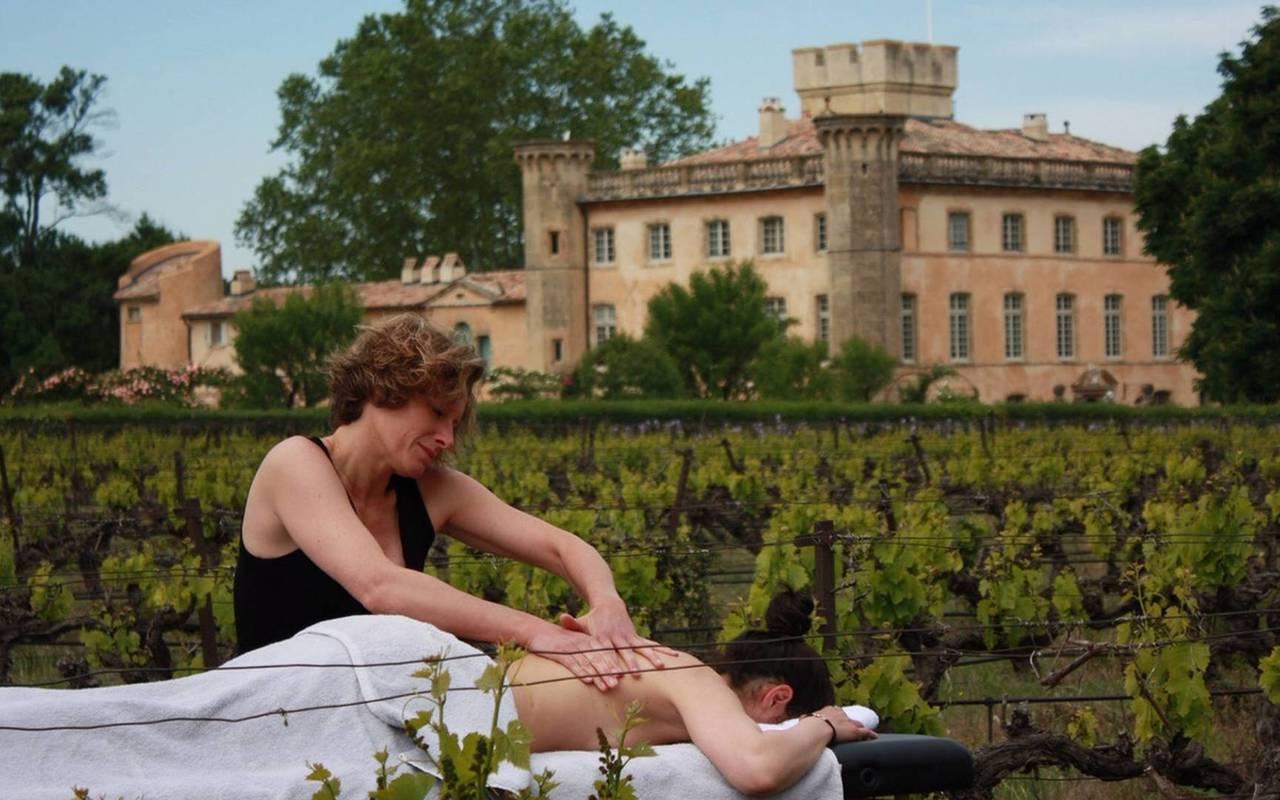 Massage villa baulieu - maison d hote de charme luberon