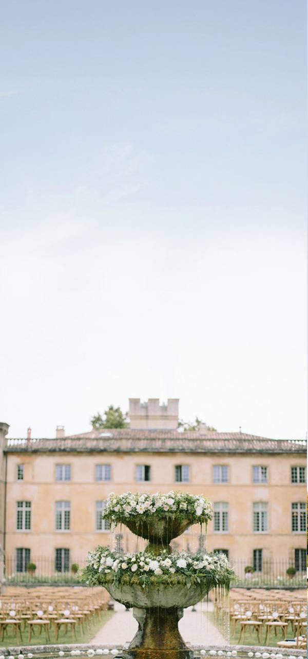 Fontaine extérieure Villa Baulieu - Maison d'hôte de charme lubéron